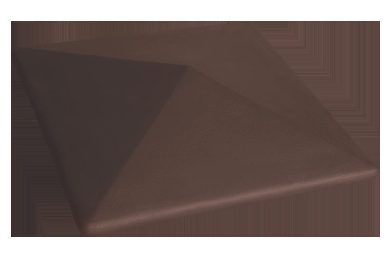 Клинкерна шапка за ограда Natural brown (03)