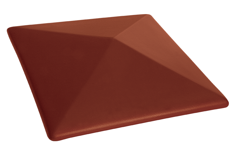 Клинкерна шапка за ограда Note of cinnamon (06)