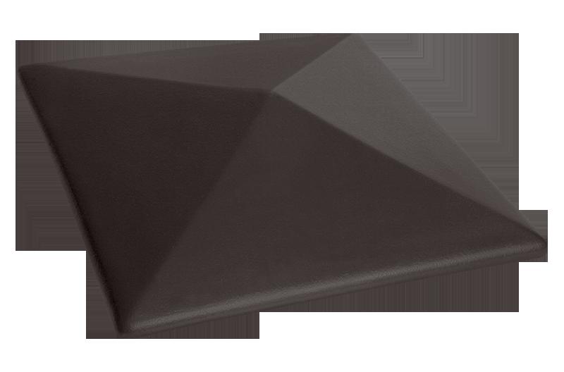 Клинкерна шапка за ограда Volcanic black (18)