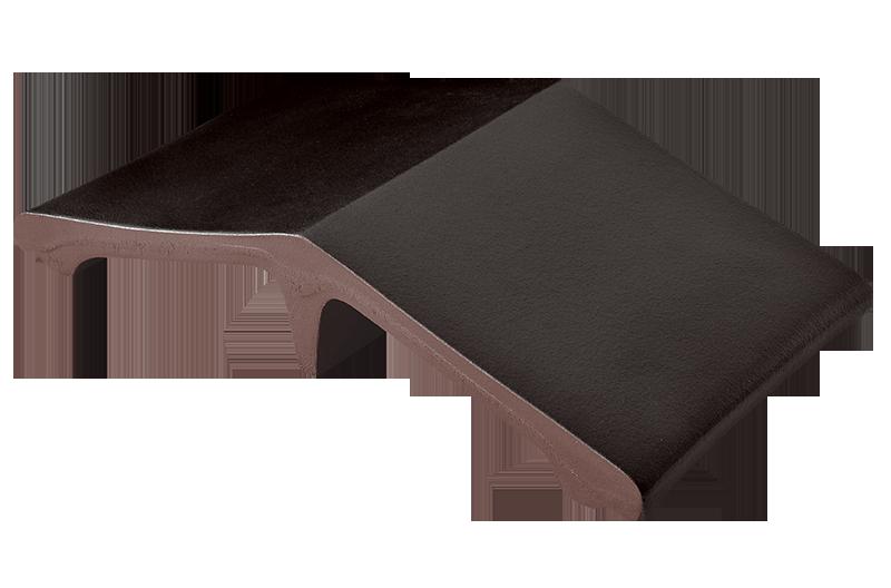 Удължител на шапки за огради Volcanic black (18)