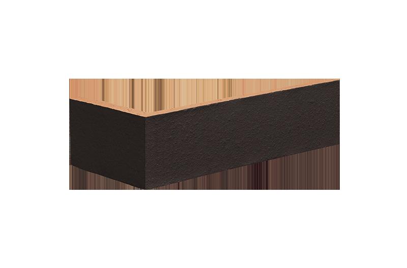 Клинкерна ъглова плочка Volcanic black (18)