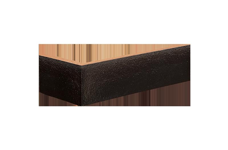 Клинкерна ъглова плочка Onyx black (17)