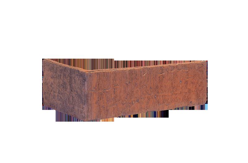 Клинкерна ъглова плочка Brick tower (HF03)