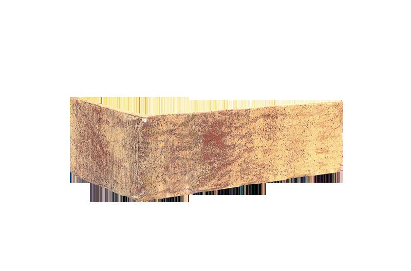 Клинкерна ъглова плочка Rainbow brick (HF15)