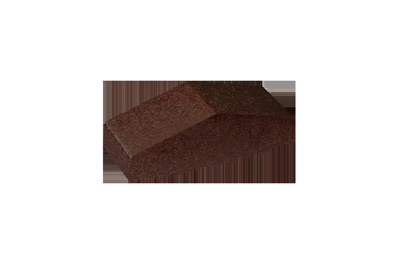 Плътен клинкерен профил за ограда Brown-glazed (02)