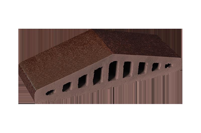 Клинкерен профил за ограда Brown-glazed (02)
