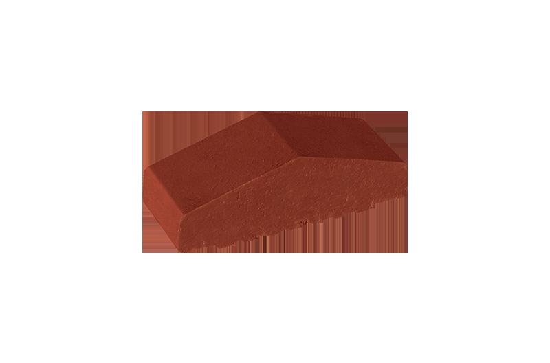 Плътен клинкерен профил за ограда Note of cinnamon (06)