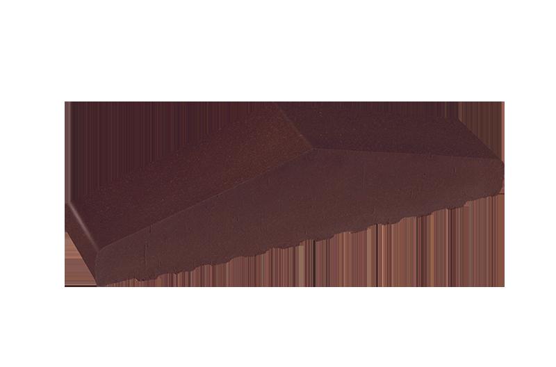 Плътен клинкерен профил за ограда The crimson island (07)