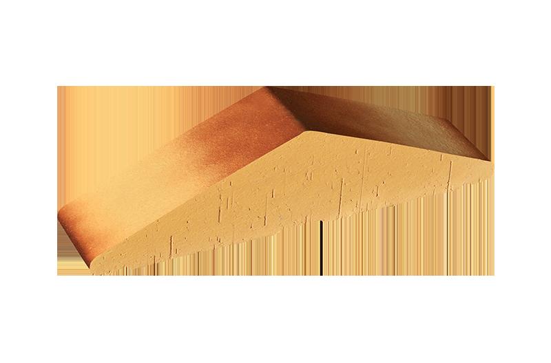 Плътен клинкерен профил за ограда Desert rose tone (11)