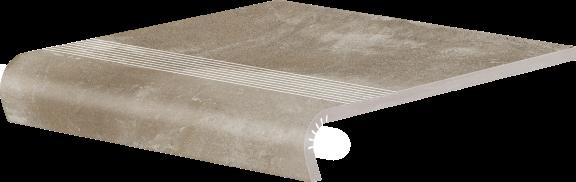 Клинкерно стълбищно стъпало Piatto Sand V-shape