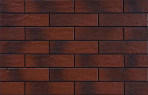 Клинкерни фасадни плочки Burgund cieniowany