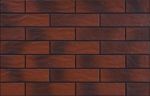 Клинкерни фасадни плочки Rot cieniowany