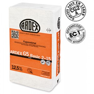 ARDEX G5 BASIC фуги 2 - 15 mm