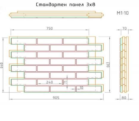 Топлоизолационна клинкерна фасадна система Ecopur